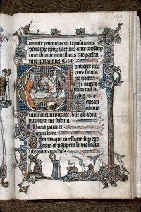 Marseille, BMVR, Ms. 111, f. 139r (Images provenant de la base enluminures.culture.fr